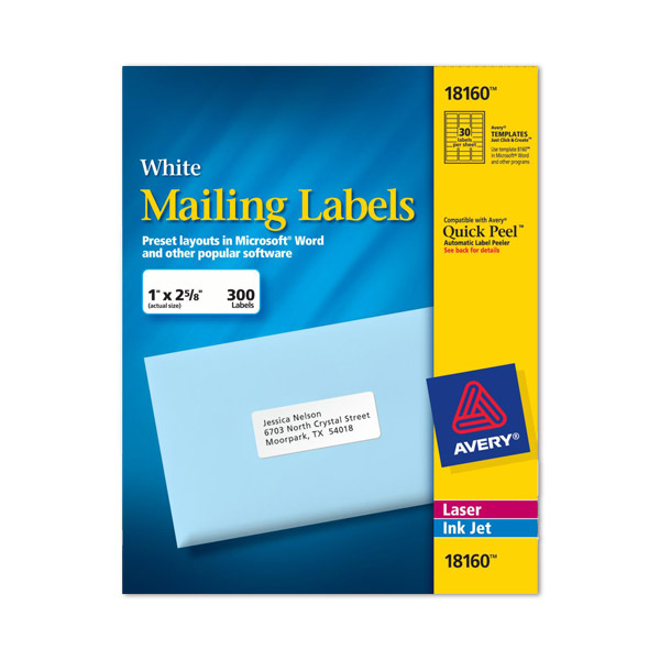 address labels 8160