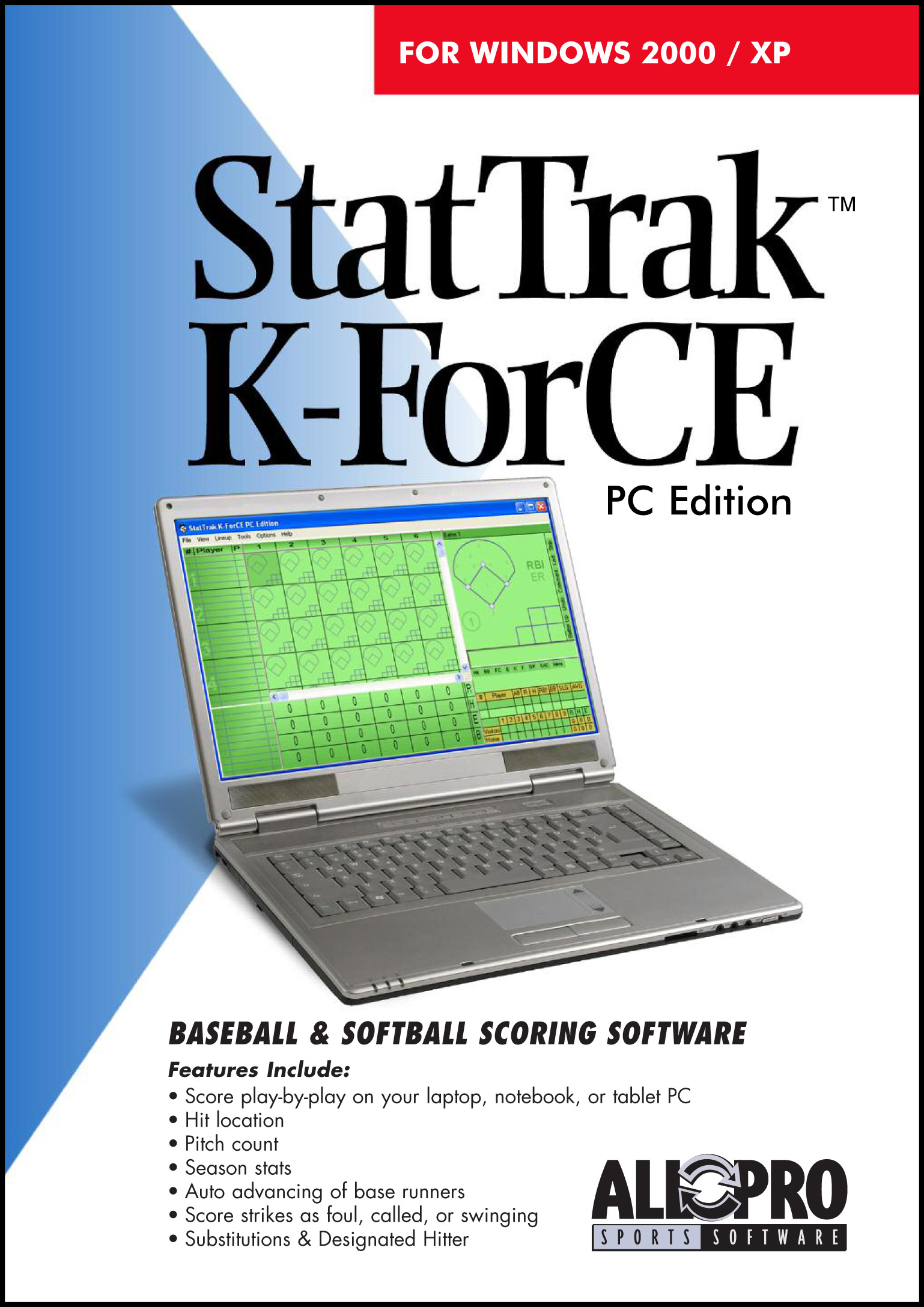 Score baseball and softball games on your PC.
