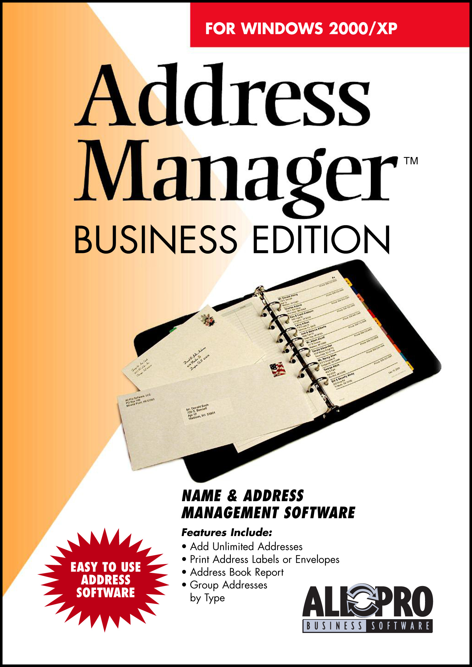 StatTrak Address Manager Business Edition