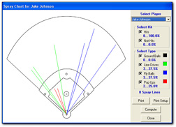 baseball statistic template