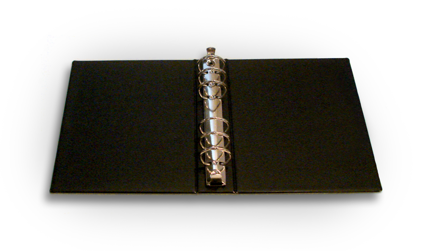 Small  Ring Binder Black   Inch Rings
